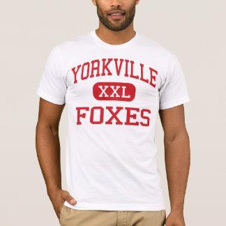 Yorkville - Foxes - Middle - Yorkville Illinois T-Shirt