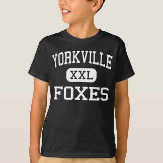 Yorkville - Foxes - Middle - Yorkville Illinois T-Shirt