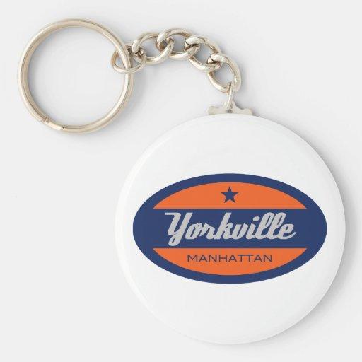 Yorkville Keychain