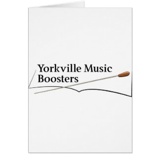 Yorkville Music Boosters Card