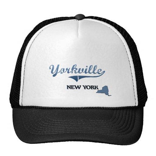 Yorkville New York City Classic Hats