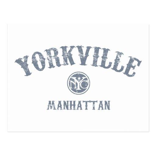 Yorkville Postcards