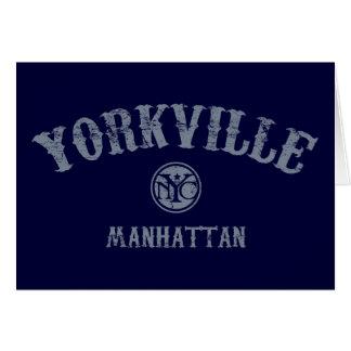 Yorkville Tarjeta De Felicitación