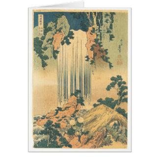 Yōrō Waterfall in Mino Province Card