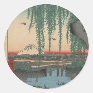 Yoroi Ferry, Koami-chō Classic Round Sticker