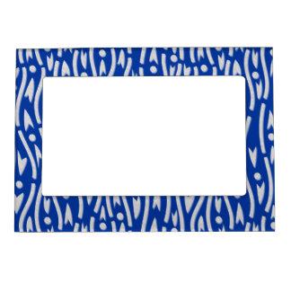 yoroke stripes magnetic photo frame