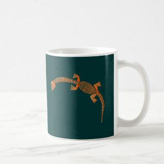 Yoruba lizard lizard coffee mug