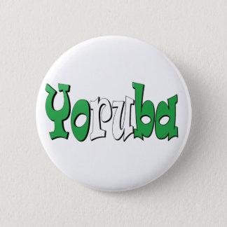 Yoruba (Nigerian Flag) Pinback Button