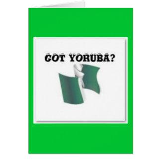 Yoruba Tribe, Nigeria, T-shirt And Etc Greeting Cards