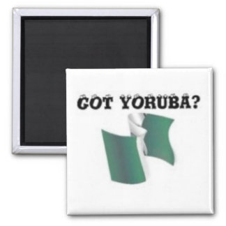 Yoruba Tribe, Nigeria, T-shirt And Etc Fridge Magnet