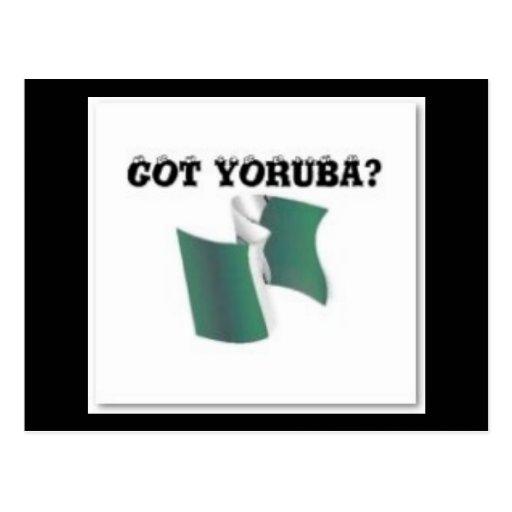 Yoruba Tribe, Nigeria, T-shirt And Etc Postcard