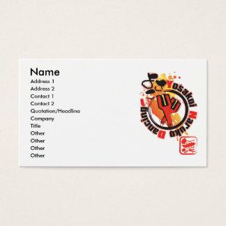 Yosakoi Naruko Dancing Business Card