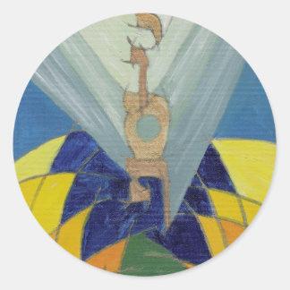 Yosef Classic Round Sticker