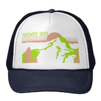 Yosemite 2010 - Pink & Green Trucker Hat