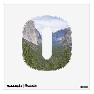 Yosemite 360 Wall Decal