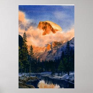 Yosemite: Alpine Glow Posters