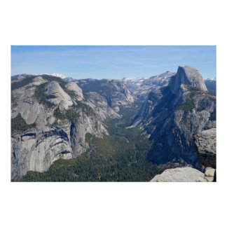 Yosemite at Glacier Point 3 Poster