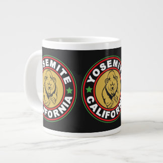 Yosemite Black Circle Large Coffee Mug