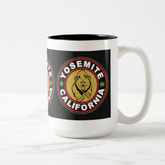 Yosemite Black Circle Two-Tone Coffee Mug