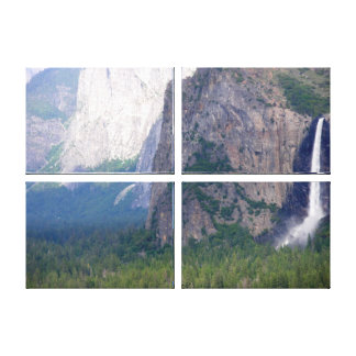 Yosemite Bridal Veil Fall Canvas Print