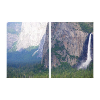 Yosemite Bridal Veil Fall Gallery Wrap Canvas
