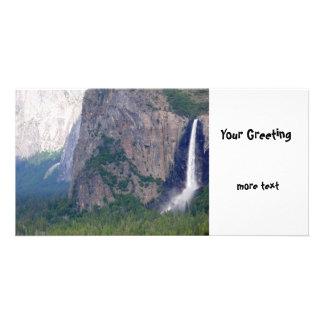 Yosemite Bridal Veil Fall Photo Card