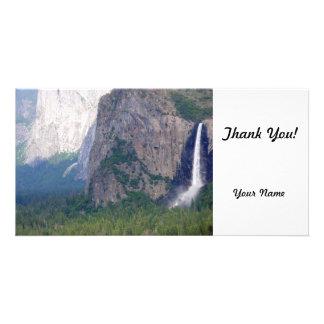 Yosemite Bridal Veil Fall Picture Card