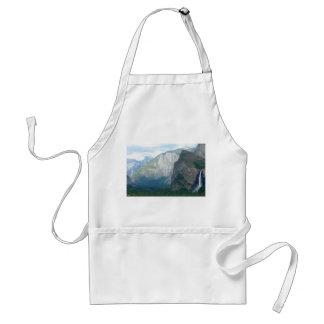 Yosemite Bridalveil Fall Adult Apron