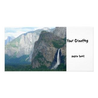Yosemite Bridalveil Fall Photo Greeting Card