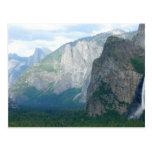Yosemite Bridalveil Fall Post Card