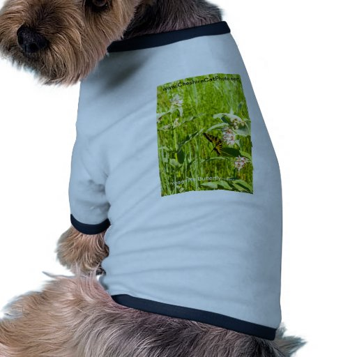 Yosemite Butterfly California Products Doggie Tshirt