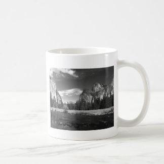 Yosemite Ca Half Dome B&W Classic White Coffee Mug