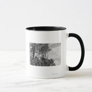 Yosemite, CA - The Ahwahnee Lodge and El Capitan Mug