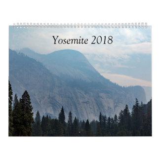 Yosemite Calendar