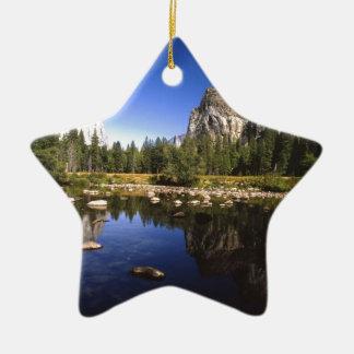 Yosemite California Ceramic Ornament