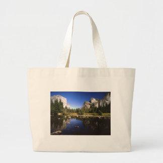 Yosemite california large tote bag