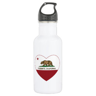 Yosemite California Republic Heart Stainless Steel Water Bottle