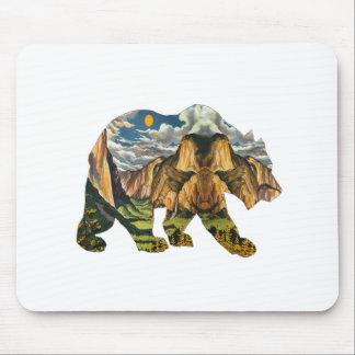 Yosemite Calls Mouse Pad