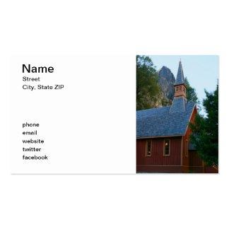 Yosemite Chapel Business Cards