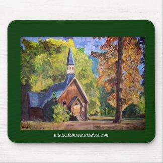 Yosemite Chapel - Mousepad