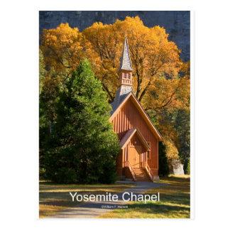 Yosemite Chapel (October) California Products Postcard