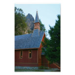 Yosemite Chapel Photographic Print