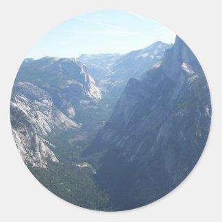 Yosemite Classic Round Sticker