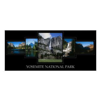 Yosemite Collage Posters