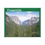 Yosemite estiró la impresión de la lona lienzo envuelto para galerías