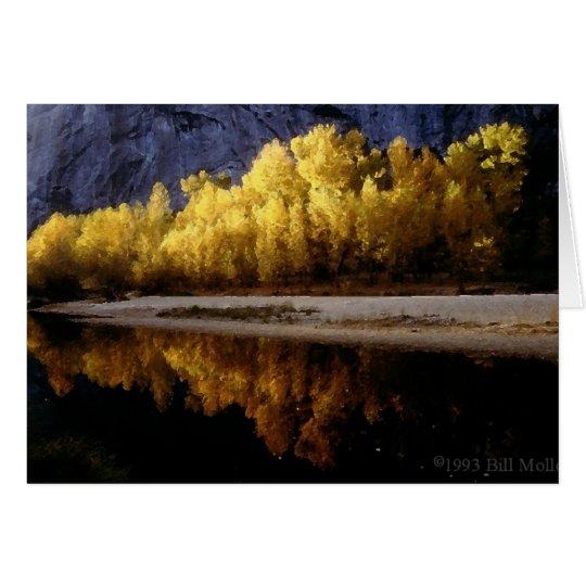 Yosemite Fall Colors Card