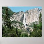 Yosemite Falls 2 Print