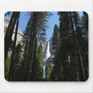 Yosemite Falls and Woods in Yosemite National Park Mouse Pad