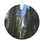 Yosemite Falls and Woods Landscape Photography Ornament