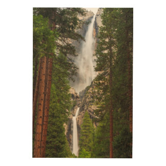 Yosemite Falls, California Wood Print